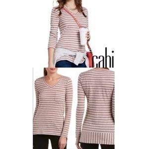 ❗️sale Cabi skipper striped cotton top